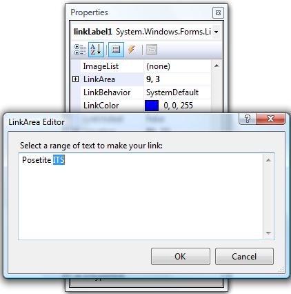 C# programski jezik - LinkArea Editor