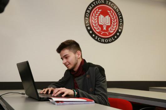 Stipendista u poseti ITS Visokoj školi u Beogradu