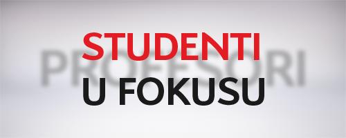 Studenti u fokusu | ITS Visoka škola, Beograd
