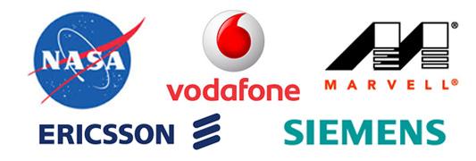 Nasa,-Siemens,-Vodafon,...-
