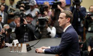 Slika 3. Mark Zakerberg pred SAD senatom (Izvor: TheGuardian.com)