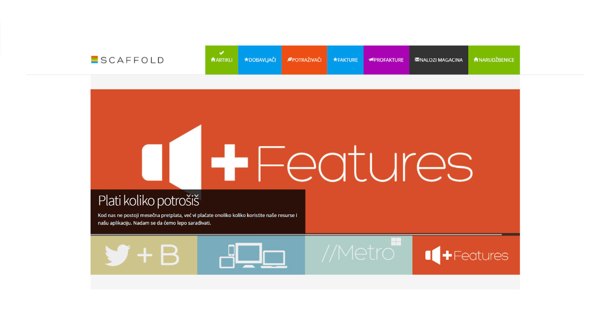 Logo aplikacije koja je hostovana na Cloud