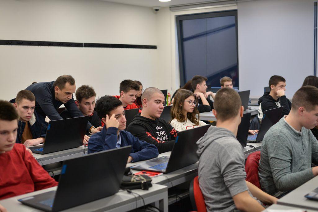 Polaznici zimske škole programiranja i dizajna