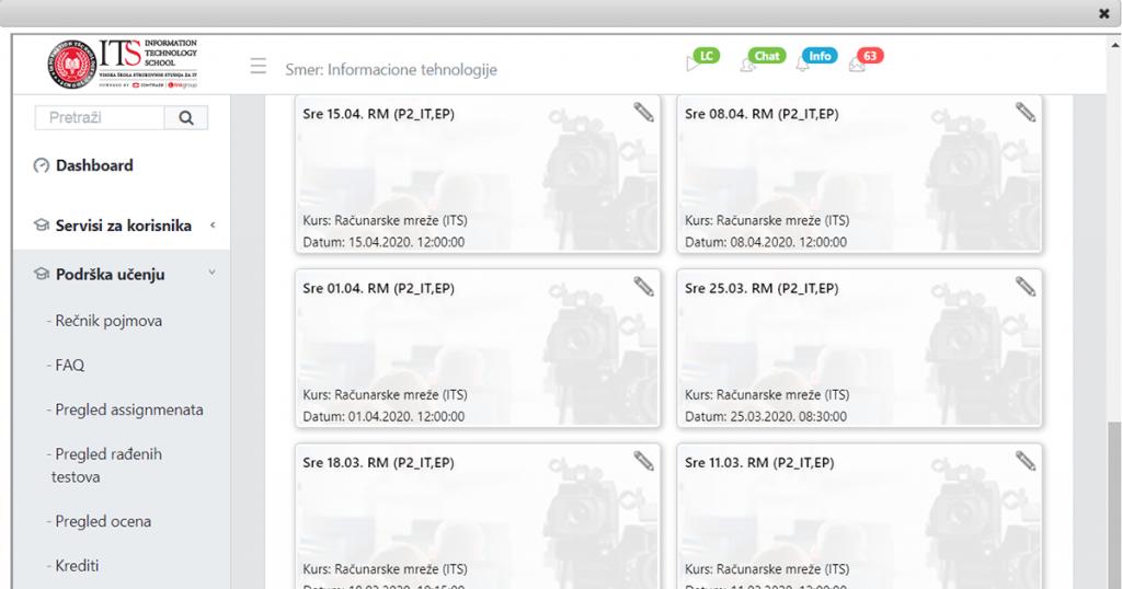 DL platforma za učenje na daljinu